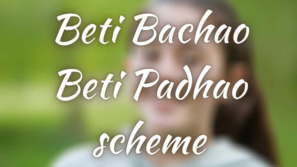Beti Bachao Beti Padhao scheme