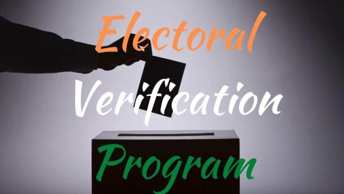 EVP Voter ID Electoral Verification Program