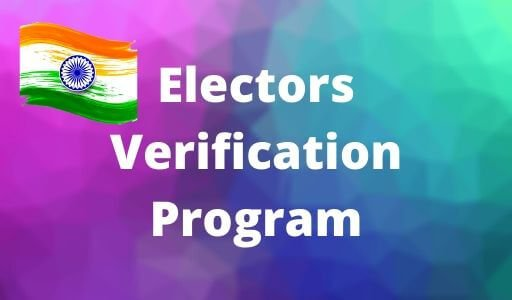 EVP Voter ID Electoral Verification Program