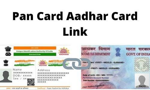 Pan Card Aadhar Card Link