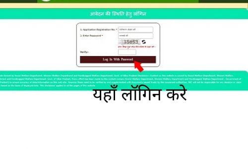 UP Vidhwa Pension Yojana status check