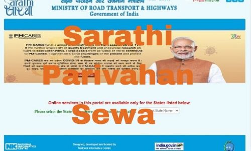 UP Sarathi Parivahan Sewa Online Apply @sarathi.parivahan.gov.in