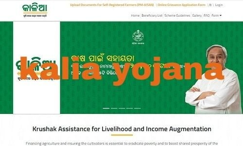 Kalia Yojana New List 2020