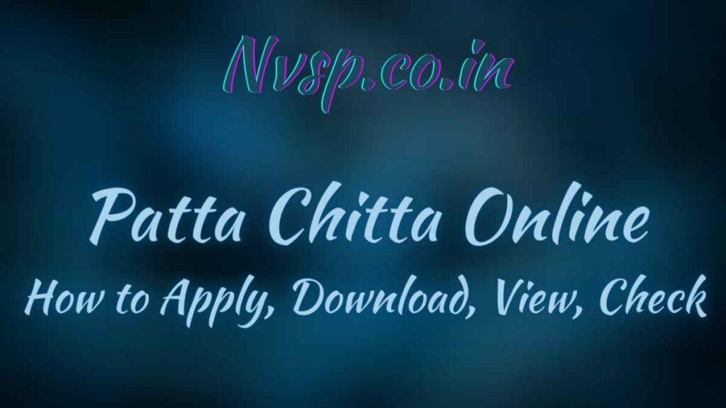 Patta Chitta
