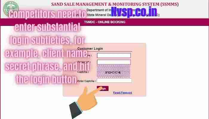 Online Sand Booking in Telangana Portal