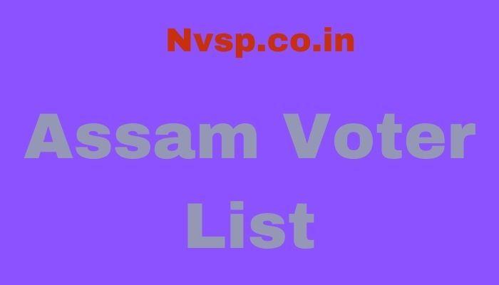 Assam Voter List