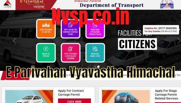 E Parivahan Vyavastha Himachal - HPDT Online Apply at onlinehpdt.org